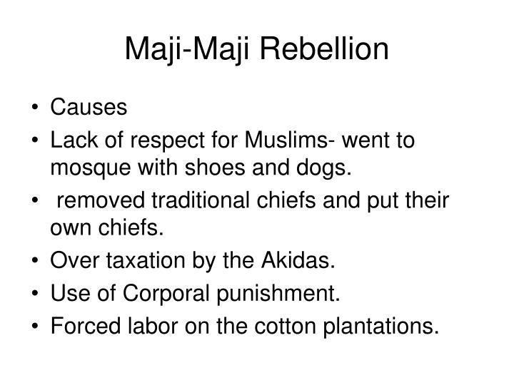 Maji-Maji Rebellion