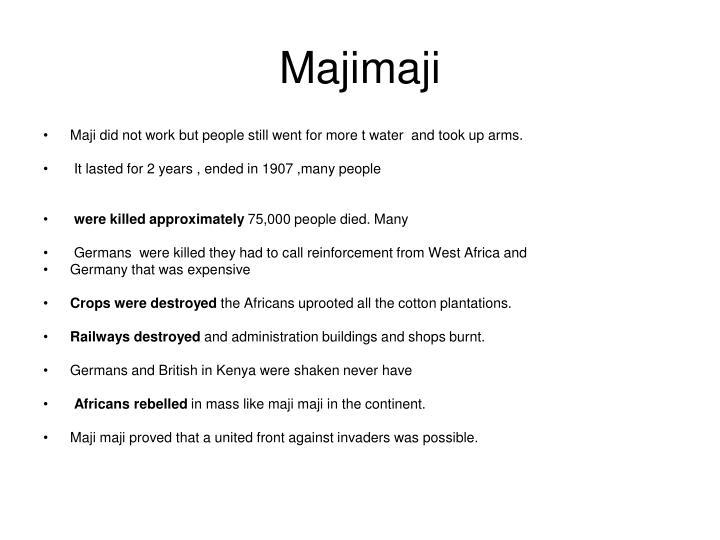 Majimaji