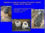spla kov a de ov kanalizace varnsdorf lokalita hr dek ulice p bezru e