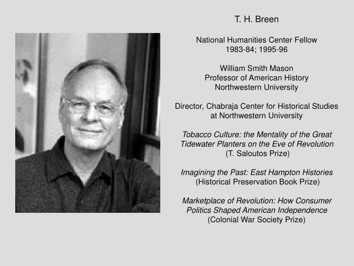 T. H. Breen