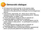democratic dialogue1