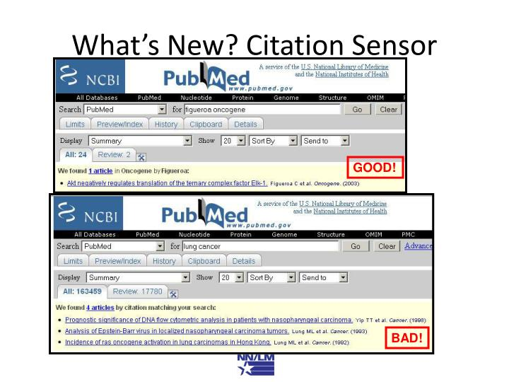 What's New? Citation Sensor