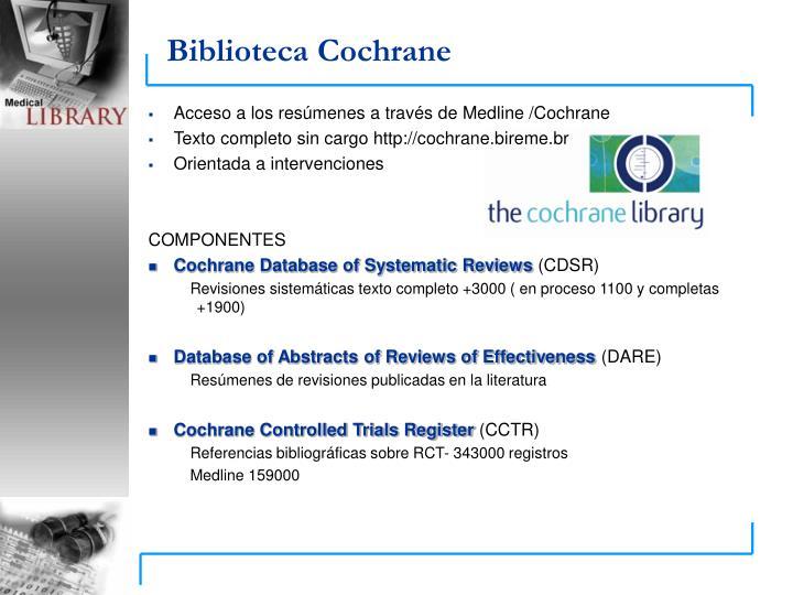 Biblioteca Cochrane