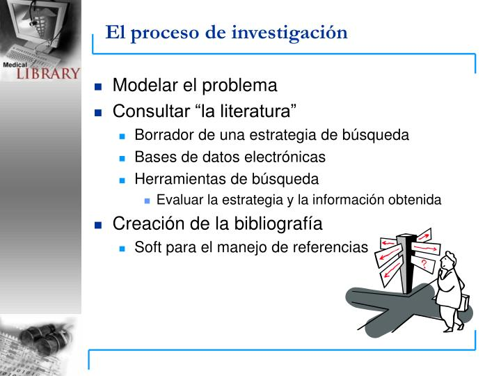 El proceso de investigaci n
