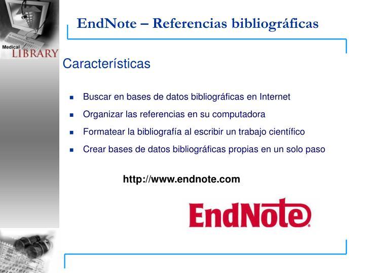 Buscar en bases de datos bibliográficas en Internet