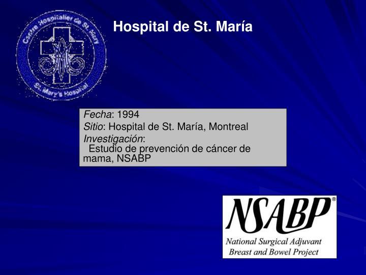 Hospital de St. María