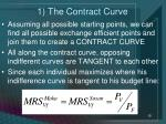 1 the contract curve