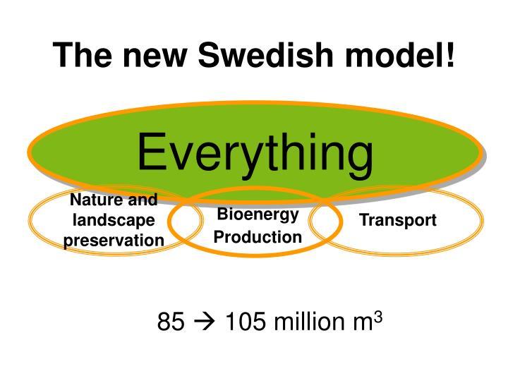 The new Swedish model!