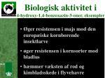 biologisk aktivitet i 4 hydroxy 1 4 benzoxazin 3 oner eksempler