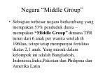 negara middle group