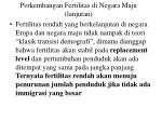 perkembangan fertilitas di negara maju lanjutan