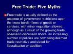 free trade five myths