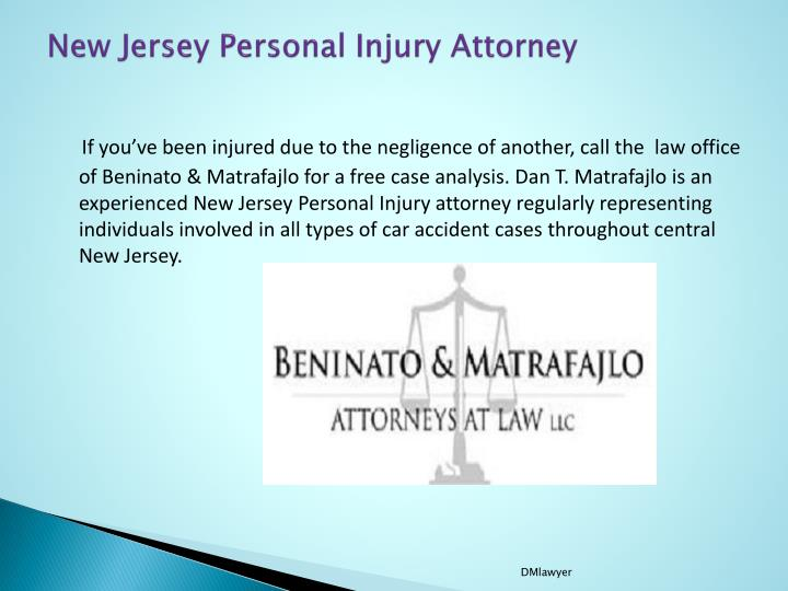 New jersey personal injury attorney