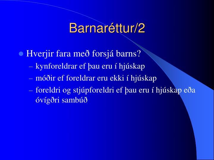Barnaréttur/2