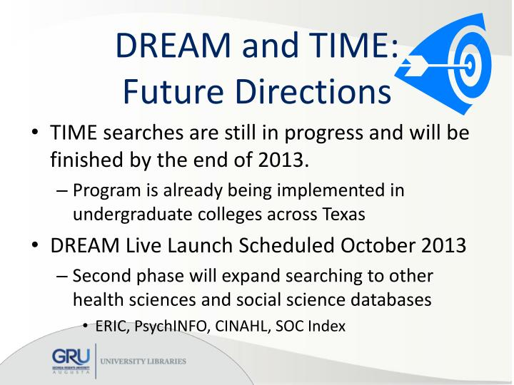 DREAM and TIME: