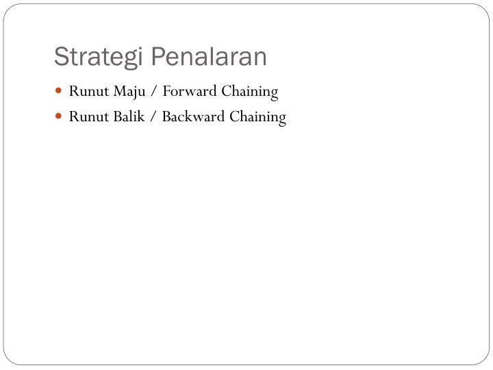 Strategi penalaran