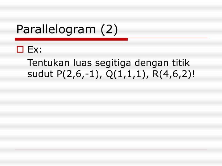 Parallelogram (2)