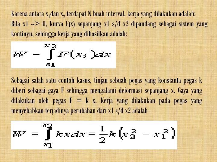 Karena antara x