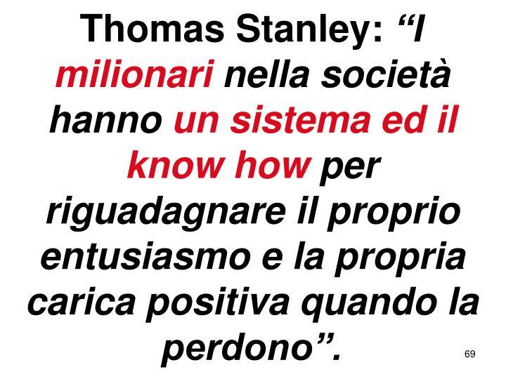 Thomas Stanley: