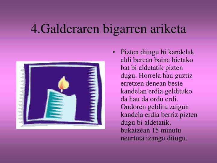 4.Galderaren bigarren ariketa