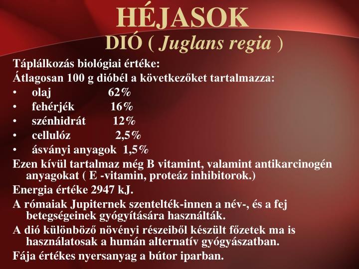 Di juglans regia