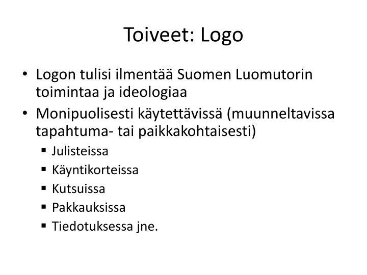 Toiveet: Logo