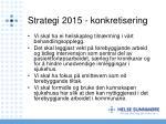 strategi 2015 konkretisering