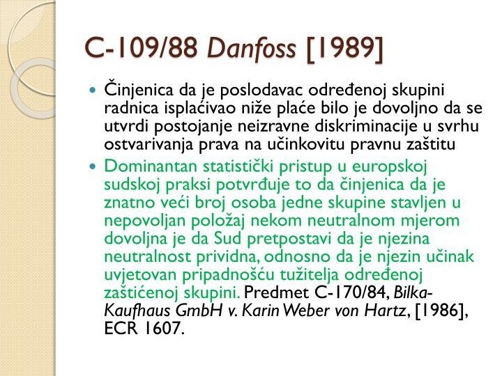 C-109/88