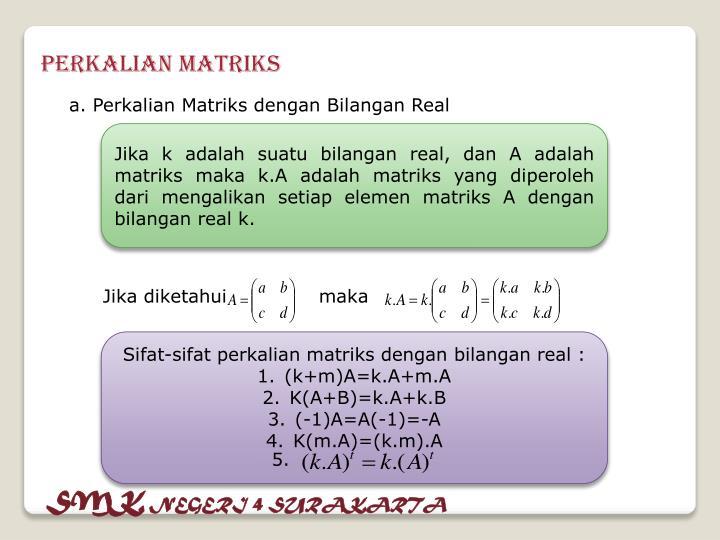 Perkalian Matriks