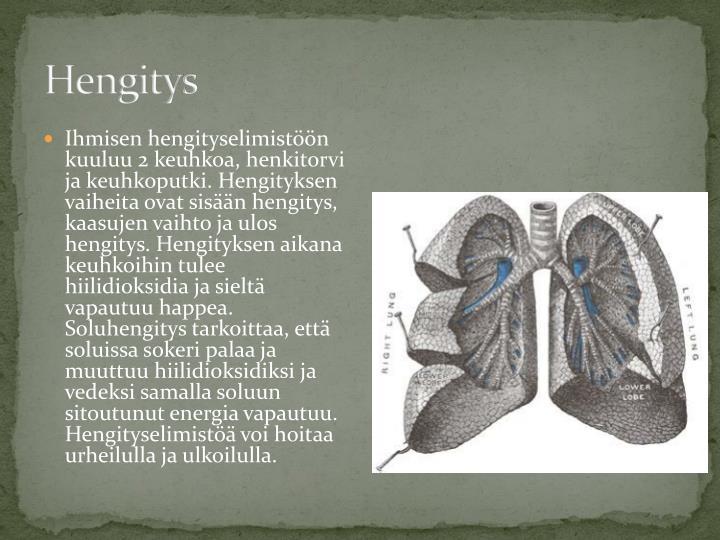 Hengitys