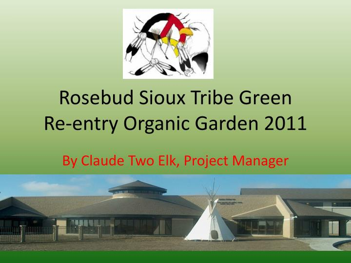 Rosebud Sioux Tribe Green