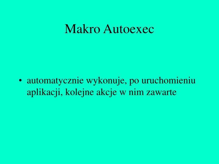 Makro Autoexec