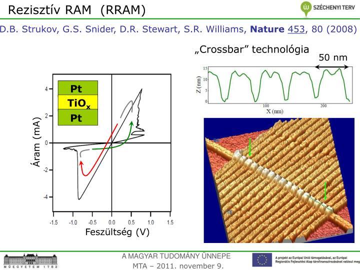 Rezisztív RAM  (RRAM)