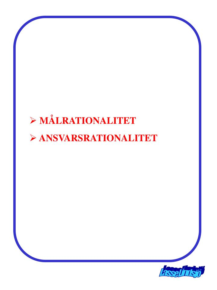 MÅLRATIONALITET