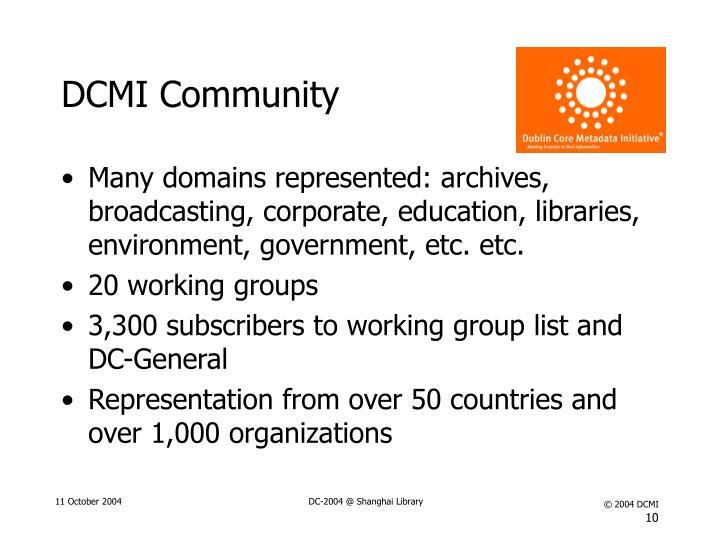 DCMI Community
