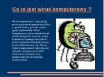 co to jest wirus komputerowy