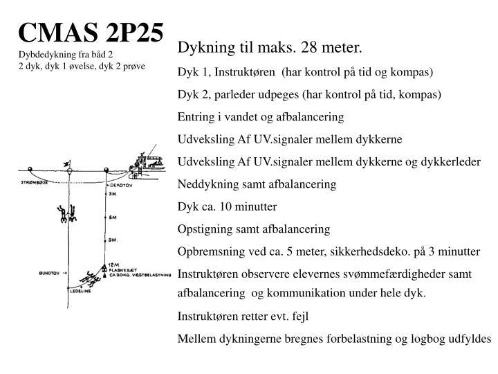 CMAS 2P25