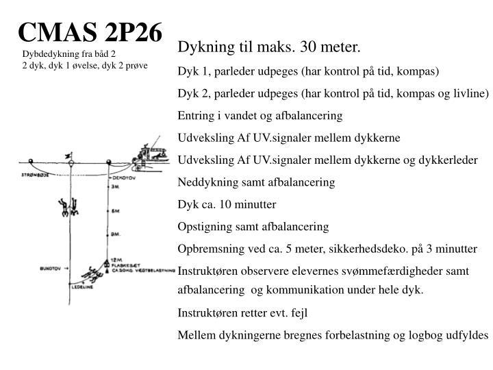 CMAS 2P26
