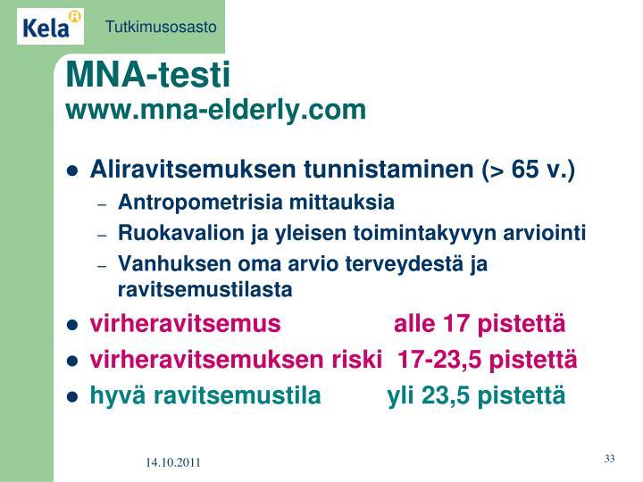 MNA-testi