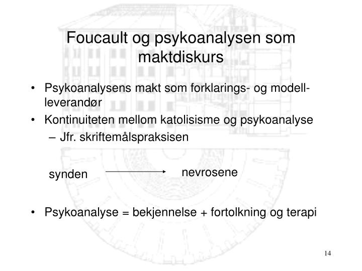 Psykoanalysens makt som forklarings- og modell-leverandør