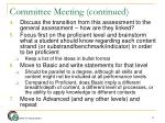 committee meeting continued1
