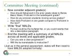 committee meeting continued2