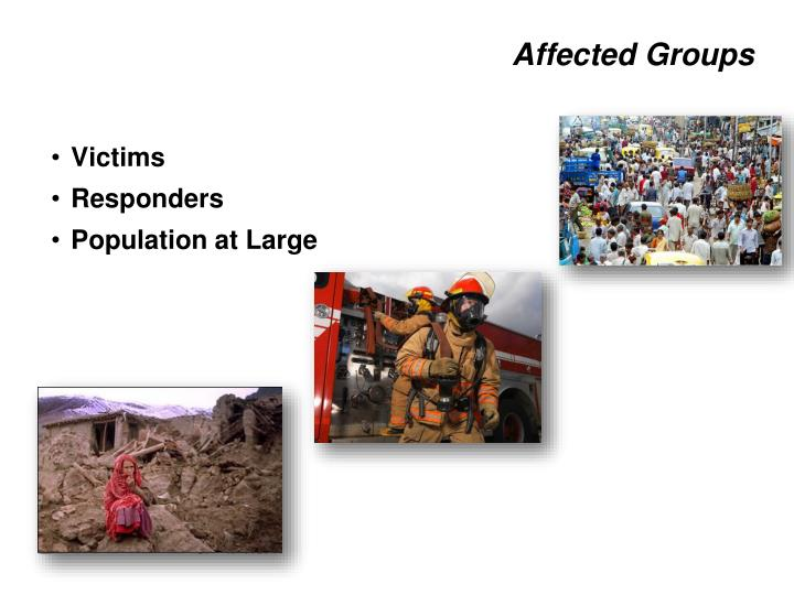 Affected Groups