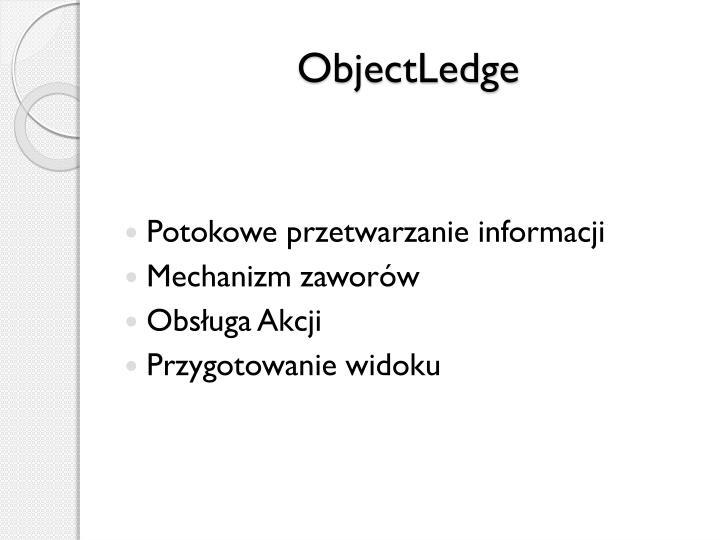ObjectLedge