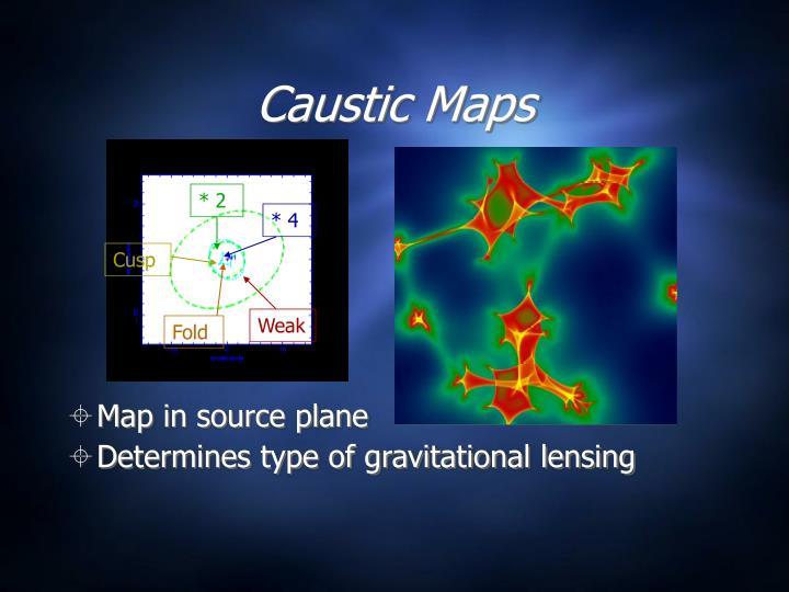 Caustic Maps