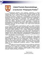 udzia powiatu szamotulskiego w konkursie przejrzysta polska