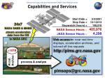 capabilities and services1