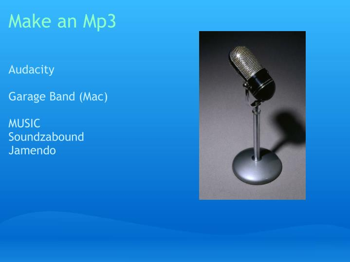 Make an Mp3
