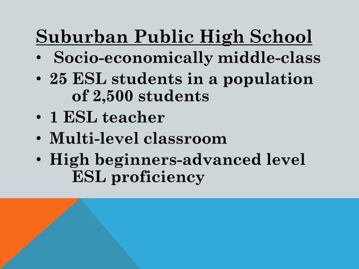 Suburban Public High School