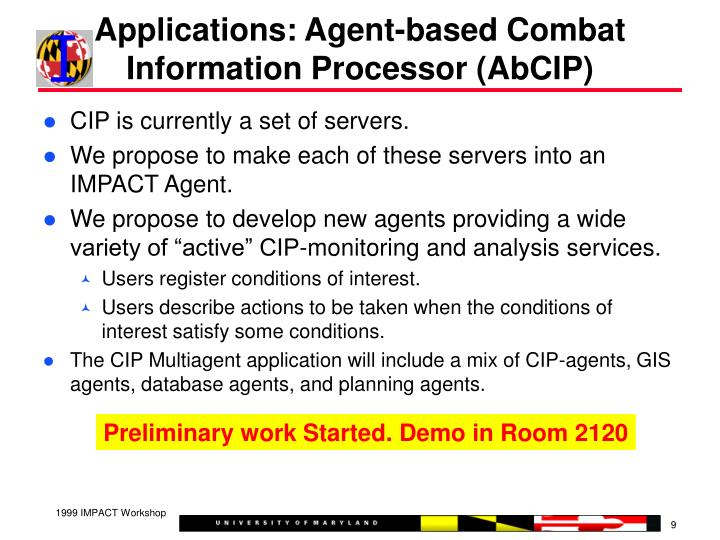 Applications: Agent-based Combat